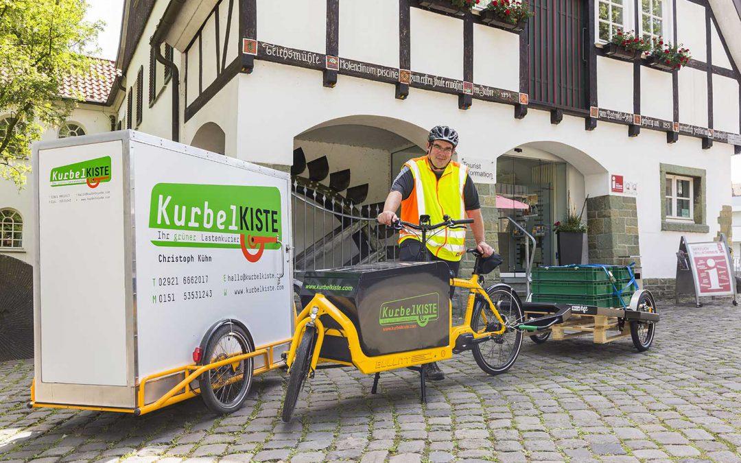 Innovationsprogramm Logistik 2030: E-Lastenräder im Abseits