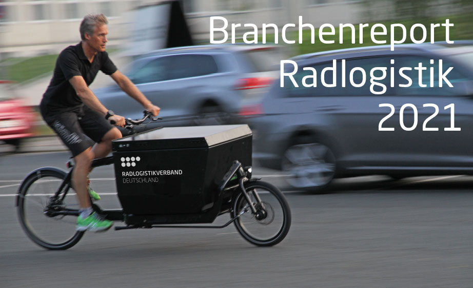 Branchenreport Radlogistik 2021 gestartet