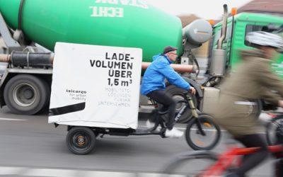 Lastenrad statt Diesel-Van: Fachkonferenz der Radlogistik in Frankfurt